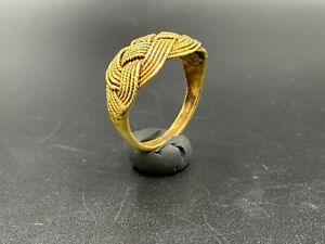 Old Vintage Ancient Antique Gold Jewelry Ring From South East Asia