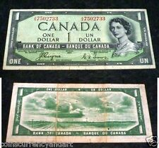 DEVILS FACE Bank of Canada $1 About EF