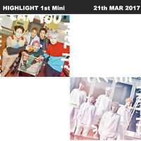 HIGHLIGHT CAN YOU FEEL IT? 1st Mini Album 2SET Ver CD+Card+Paper+Photo Book KPOP