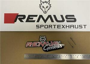 Remus Exhausts Revolution Genesis Rivet On Badge / Decal