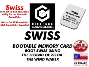 GameCube Memory Card Mod For Booting SWISS SD Loader SD2SP2 Plug and Play
