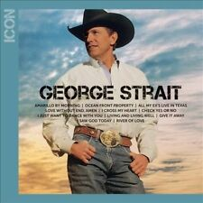 Brand New George Strait  ICON CD Amarillo  Morning I Cross My Heart Oceanfront