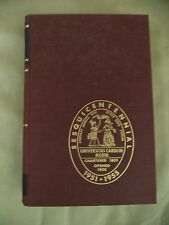 University of South Carolina Volume 1, 1951, Sesquicentennial Edition (signed)