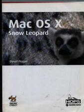 MAC OS X SNOW LEOPARD  POGUE DAVID TECNICHE NUOVE 2010 MISSING MANUAL