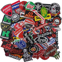 Wholesale Lot Car Motorcycle Racing Auto Motor Sew Iron on Embroidered Patch