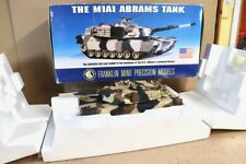 FRANKLIN MINT 1:24 US ARMY GENERAL DYNAMICS M1A1 ABRAMS TANK BOXED nv