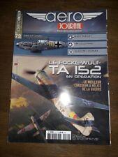 AERO JOURNAL N°72 le focke-wulf TA 152