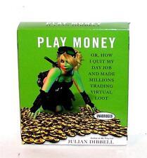 BOOK/AUDIOBOOK CD Julian Dibbell MMPORG Games Virtual Money PLAY MONEY