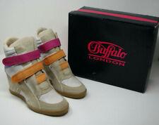 Buffalo London - Damen Schuhe Plateau Stiefeletten - Gr.40