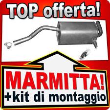 Silenziatore Posteriore RENAULT CLIO III 1.2 1.4 1.6 MODUS Marmitta CEC