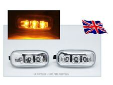 Clear Amber LED Fender Side Marker Light For AUDI A4 S4 A5 A6 A8 TT - S RS - UK