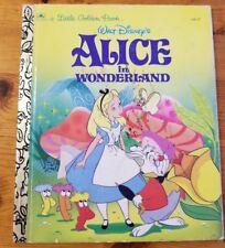 Walt Disney's Alice in Wonderland (a little Golden Book)