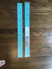 Set Of Two New Magnetic Strip Bulletin Boards By Three By Three