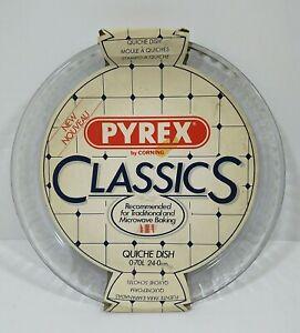 Vintage Pyrex Glass Quiche Flan Dish Oven dish 24cm