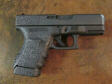 Black Textured Rubber Grip Enhancements for Glock Models: 29SF/30SF/30S