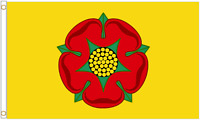 Lancashire 5'x3' HEAVY DUTY NYLON Flag