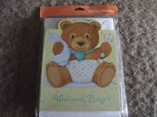 New listing 10 baby shower invitations with envelopes pary express Hallmark