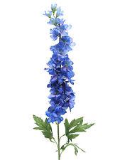 Artificial Delphinium Flower Stem - Blue 86cm - Flowering Fake Stem