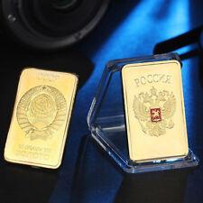 CCCP gold plated souvenir coin Russia medal coin USSR bullion collection coin KK