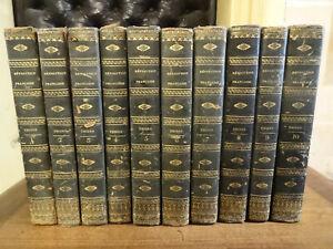 Histoire de la Révolution Française Thiers 1834 10 Volumes Gravures