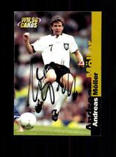 Andreas Möller Deutschland Panini Card WM 1998 Original Signiert+ A 182301