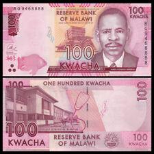 Malawi 100 Kwacha, 2017, P-65c New, UNC