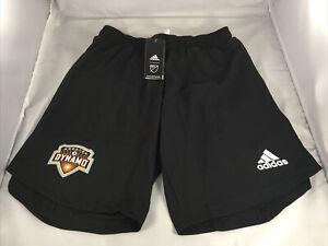 Houston Dynamo MLS Adidas Aeroready Authentic Soccer Shorts size M NWT $60
