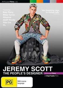 JEREMY SCOTT - THE PEOPLE'S DESIGNER DVD  - BRAND NEW - FASHION