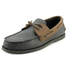 Tommy Hilfiger Bowman Men US 10 Black Boat Shoe Blemish 2614