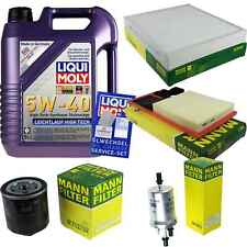 Inspection Kit Filter Liqui Moly Oil 5L 5W-40 for VW Polo 6R_1.4 Seat Ibiza