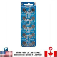 10 PCS Renata 389 Watch Batteries 0% MERCURY SR1130W Swiss Made US Seller