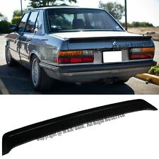 For 81-88 BMW E28 5-Series M5 M-Tech Style Rear Trunk Spoiler Wing Lip Body kit