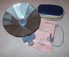 Vintage1960s  BC Camera Pocket Flash Gun Fan Aruba II Japan Battery Operated