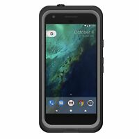 """Life Proof FRE Waterproof Case Cover Scratch Protector For Google Pixel 5"""" Black"""