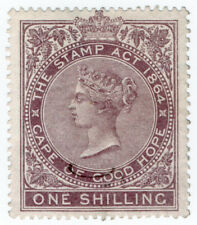 (I.B) Cape of Good Hope Revenue : Stamp Duty 1/- (1878)