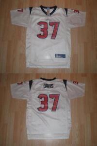 Youth Houston Texans Domanick Davis L (14/16) Reebok (White) Jersey