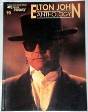 """Song Book """"Elton John Anthology"""""""