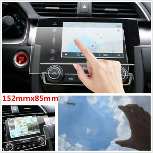 """7"""" Car Navigation Screen Protector Clear Center Touch Screen High Clarity Film"""