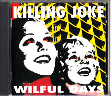 Killing Joke : Wilful Days CD (1995) The Best of Extended/Dub/Mixes Eighties etc