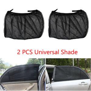 For Honda Accord Civic CR-V Car Side Window Sun Shade Visor Mesh Shield Anti-UV