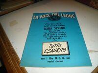 LA VOCE DEL PADRONE - März 1959 Zahl Spezial mit Katalog Produktion 1959