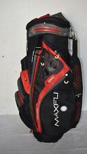 Excellent Maxfli U/Series 4.0 Cart Golf bag with 14 way dividers & rain cover