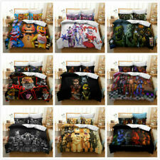 Five Nights at Freddy's FNAF Bedding Set 2/3PCS Duvet Cover & Pillowcase(s) C2