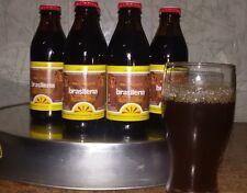 BRASILENA BIBITA CALABRESE GASSOSA AL CAFFE' STOCK 10 BOTTIGLIE DA 18 CL