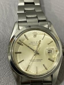 WATCH ROLEX OYSTER PERPETUAL DATE REF. 1500 CAL.1570 FOR MENS