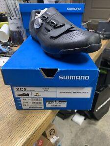 Shimano XC5 MTB XC Boa Mountain Bike Cycling Shoes Black SH-XC501 45 (US 10.5)