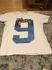 Franklin Marshall White t Shirt no.9 & New York In Background Design Size XL