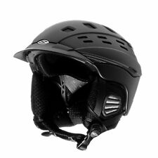 Smith Optics Variant Brim Helmet, Small, Matte Black