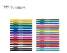 Tombow Play Colour 2 Twin tip Aqueous sign pen Choice from 36 colours WS-TP