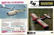 RADIO MODELLER MAGAZINE 1974 MAR SLINGSBY T31 FEATURE, SATURN SKYDANCER TEST
